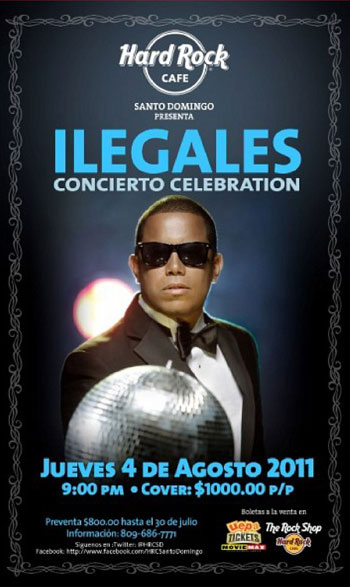 Ilegales, Concierto Celebration